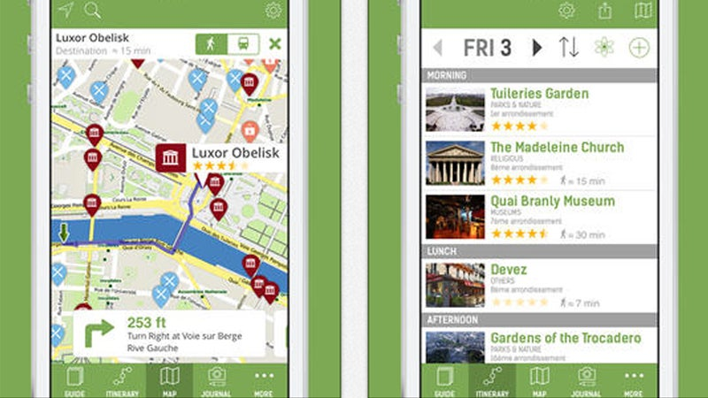 OutsideOnline best travel guide apps phone smartphone mTrip Travel Guides free